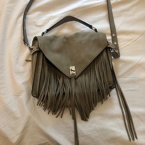 Rebecca Minkoff fringe crossbody messenger bag